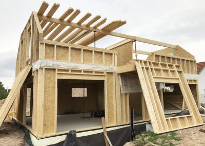 Maison individuelle en ossature bois à Dambach-la-Ville (67)