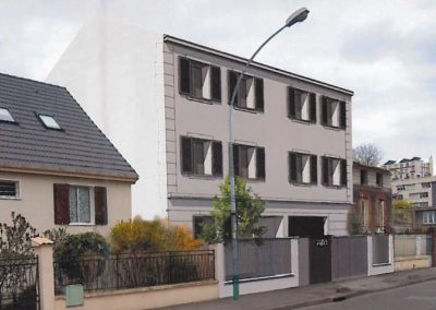 Construction de 5 logements à Gennevilliers (92)