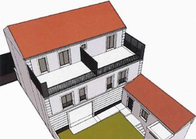 Construction de 5 logements à Gennevilliers (92)