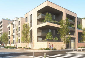 Construction de 227 logements à Cergy (95)
