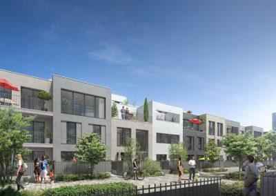 Construction de 220 logements et d'une crèche à Evry (91)
