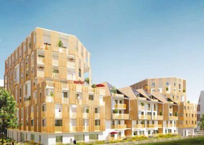 Construction de 245 logements et 7 commerces à Montreuil (93)