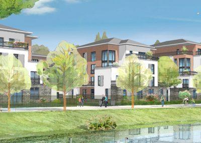Construction de 62 logements à Pontoise (95)