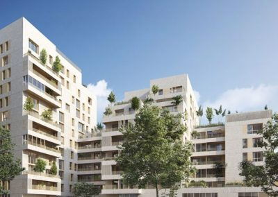 Construction de 271 logements à Lyon (69)