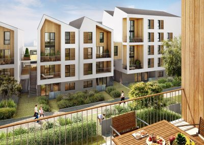 Construction de 86 logements à Bordeaux (33)