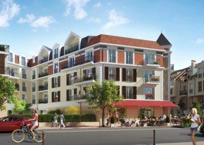 Construction de 55 logements et un commerce à Villiers-sur-Marne (94)