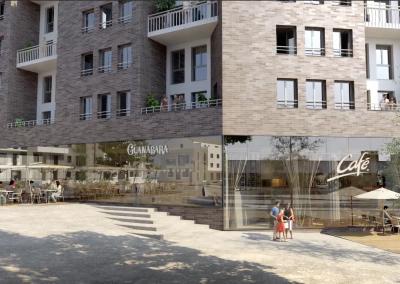 Construction de 177 logements et un commerce à Evry (91)