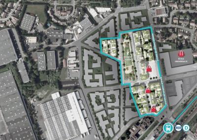 Construction de 51 logements à Louvres (95)