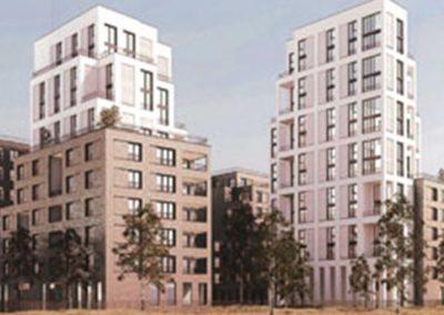 Construction de 135 logements à Asnières-sur-Seine (92)