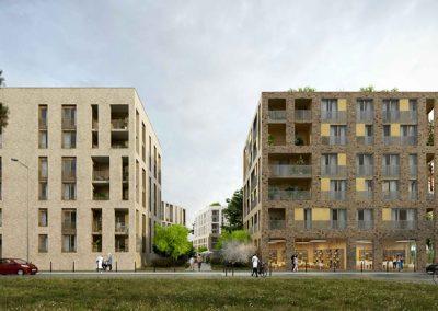 Quartier nature – Montreuil (93) – îlot G