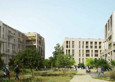 Construction de logements à Montreuil (93)