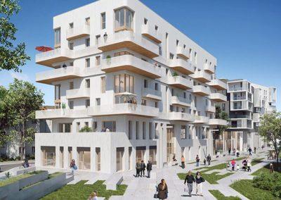 Construction de 70 logements à Romainville (93)