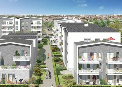 Construction de 90 logements à Villepinte (93)